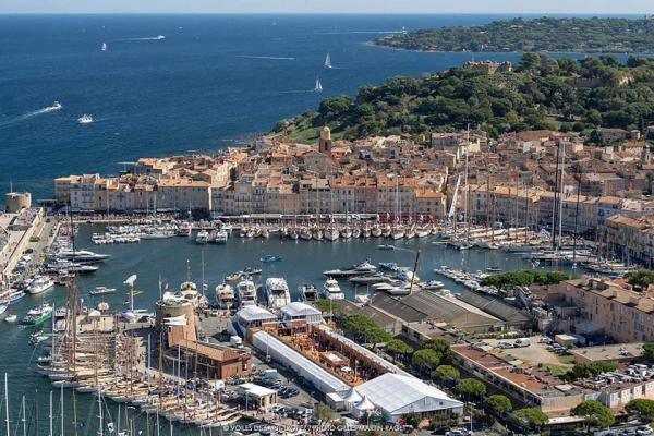 Photo aerienne st tropez